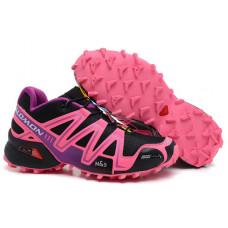 Salomon Speedcross 3 розовый с черным